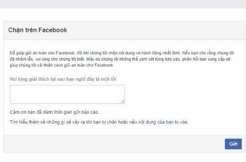 Cách mở chặn like share trên Facebook rút ngắn thời gian bị khóa