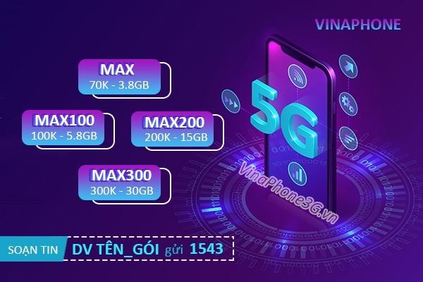 Hướng dẫn cách mua thêm dung lượng 5G Vinaphone bổ sung data