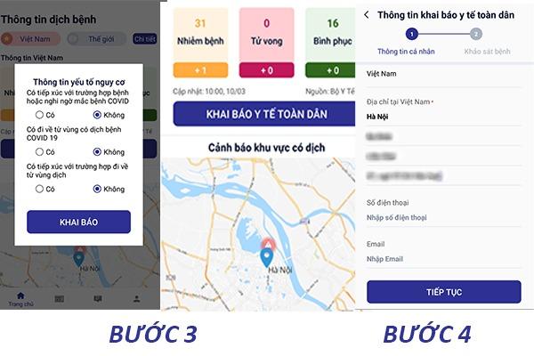 Cách tải và sử dụng ứng dụng NCOVI khai báo thông tin sức khỏe toàn dân