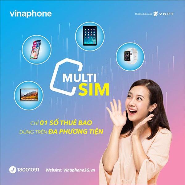 Hướng dẫn cách đăng ký MultiSIM Vinaphone 1 số VIna dùng trên đa phương tiện