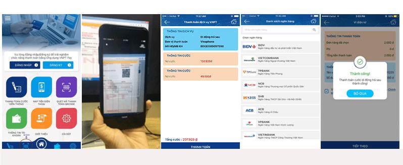Hướng dẫn cách thanh toán QR Code trên VNPT PAY