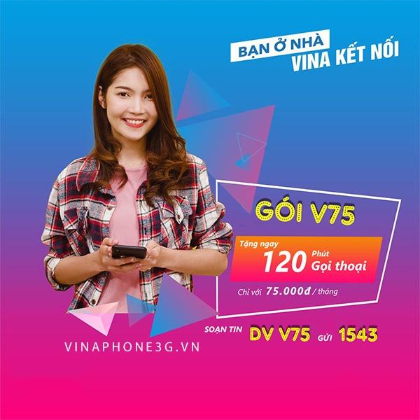 Hướng dẫn đăng ký gói cước V75 của Vinaphone