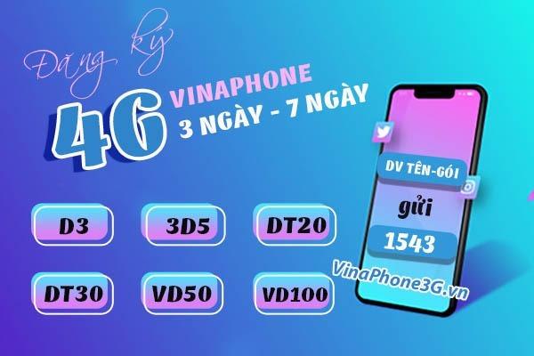 Ưu đãi 3GB data chỉ 15k khi đăng ký gói cước D3 Vinaphone