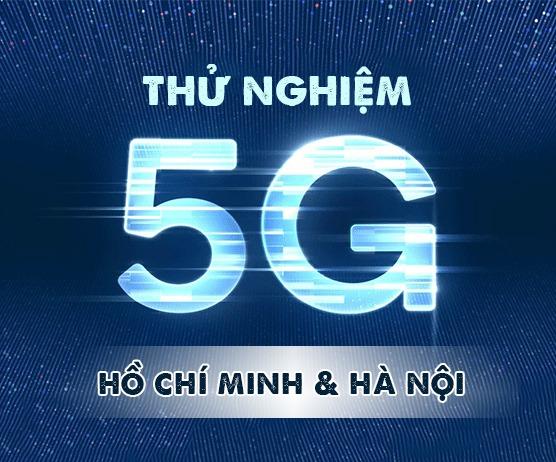 VNPT thử nghiệm mạng 5G tại Hồ Chí Minh và Hà Nội
