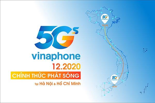 Vinaphone tặng miễn phí 15GB data tốc độ cao dùng 5G