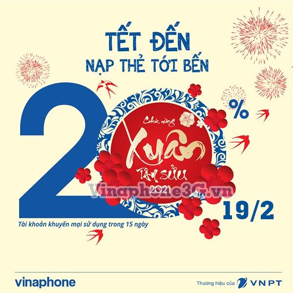 Khuyến mãi Vinaphone ngày 19/2/2021 ưu đãi vàng toàn quốc